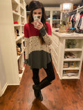 Sofia Color Block Tunic