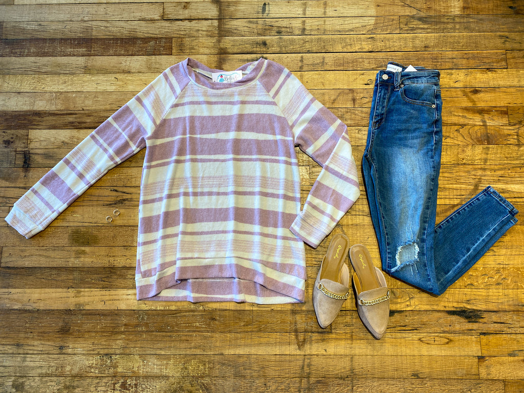 Go with the Flow Striped Top