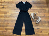 Abbott Jumpsuit in Black
