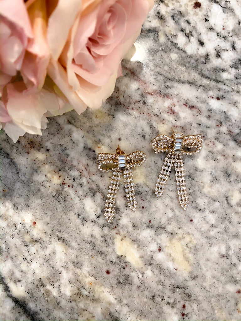 Put a Bow on It Earrings