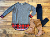 Portman Plaid Tunic