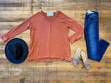 Shelby Tunic in Rust