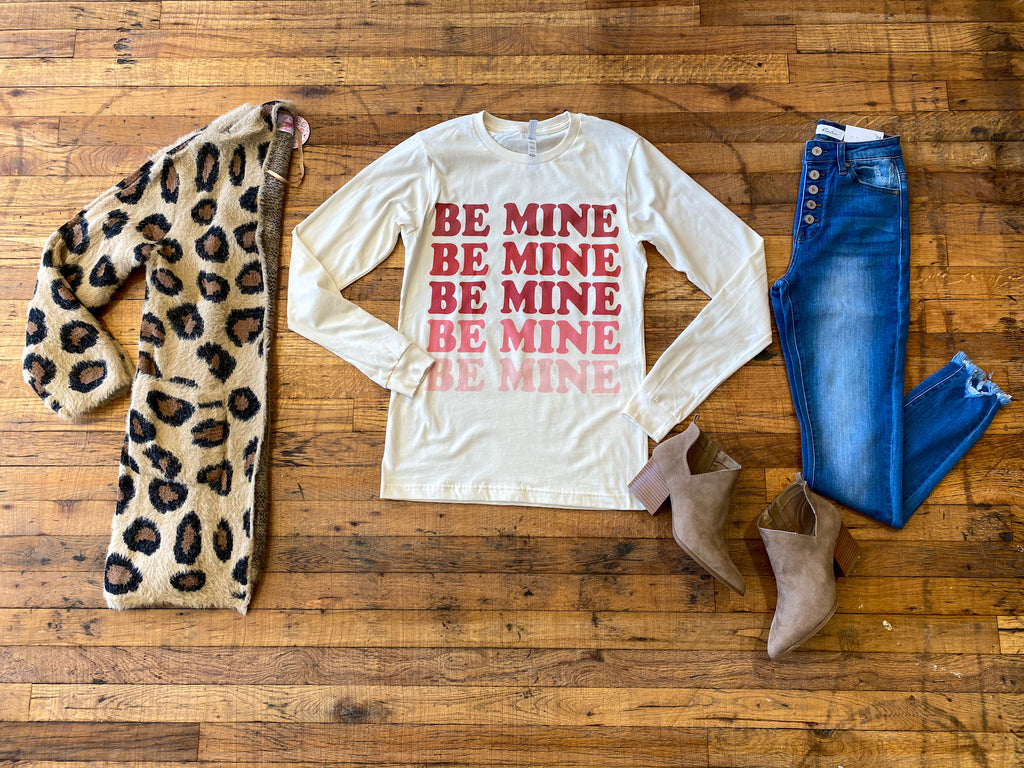 Be Mine Long Sleeve Tee