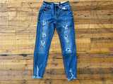 KanCan Ellington Patched Jeans