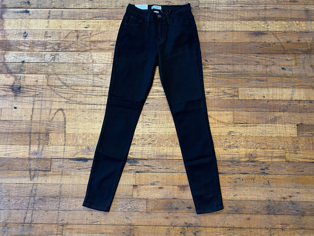 Judy Blue Boston Black Skinny Jeans