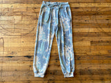 Shades of Blue Tie Dye Joggers