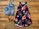 Farmers Market Floral Dress