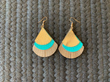 Layered Fan Earrings