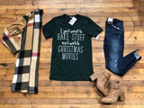 SALE! Bake Stuff and Watch Christmas Movies Tee