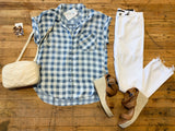 Loretta Button Down