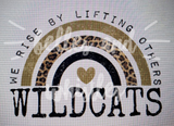 PREORDER! Wildcats We Rise By Lifting Others Tee - Ships in THREE Weeks!