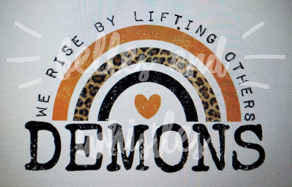 PREORDER! Demons We Rise By Lifting Others Tee - Ships in THREE Weeks!