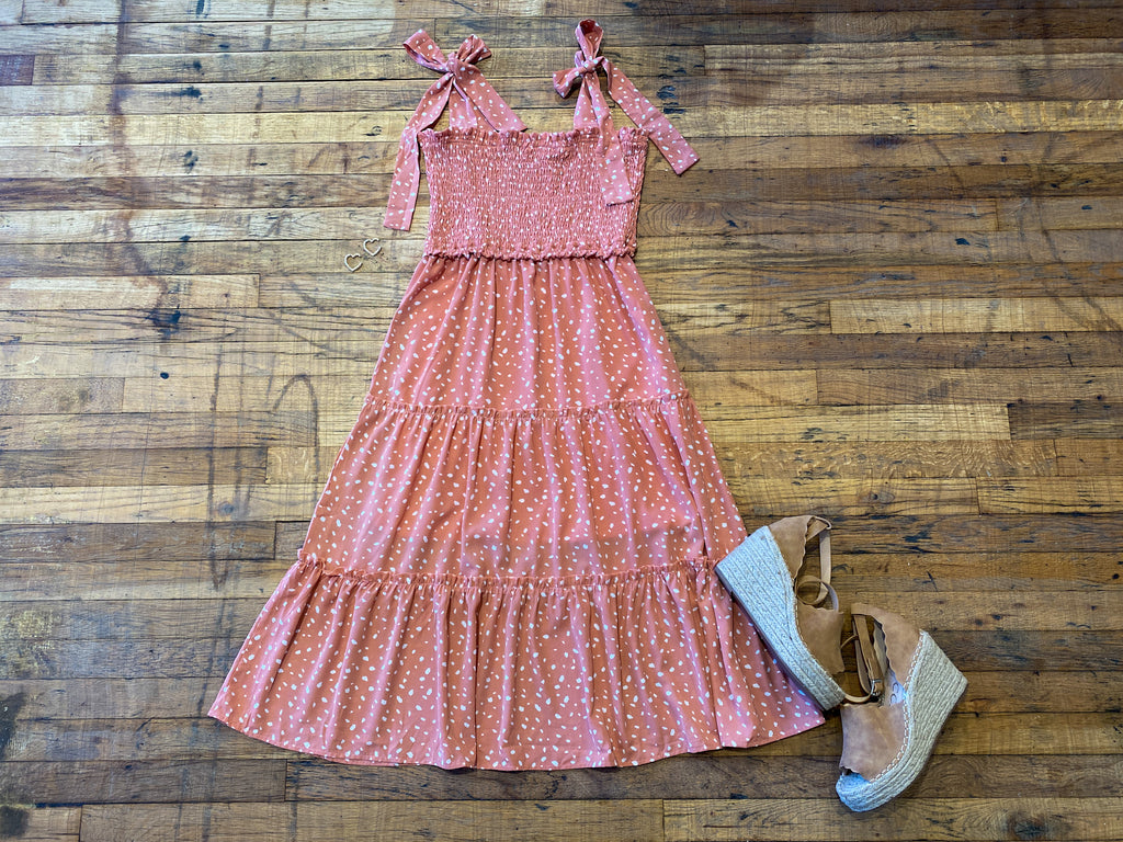 Bellaire Smocked Midi Dress