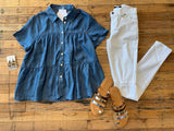 Harlie Denim Top