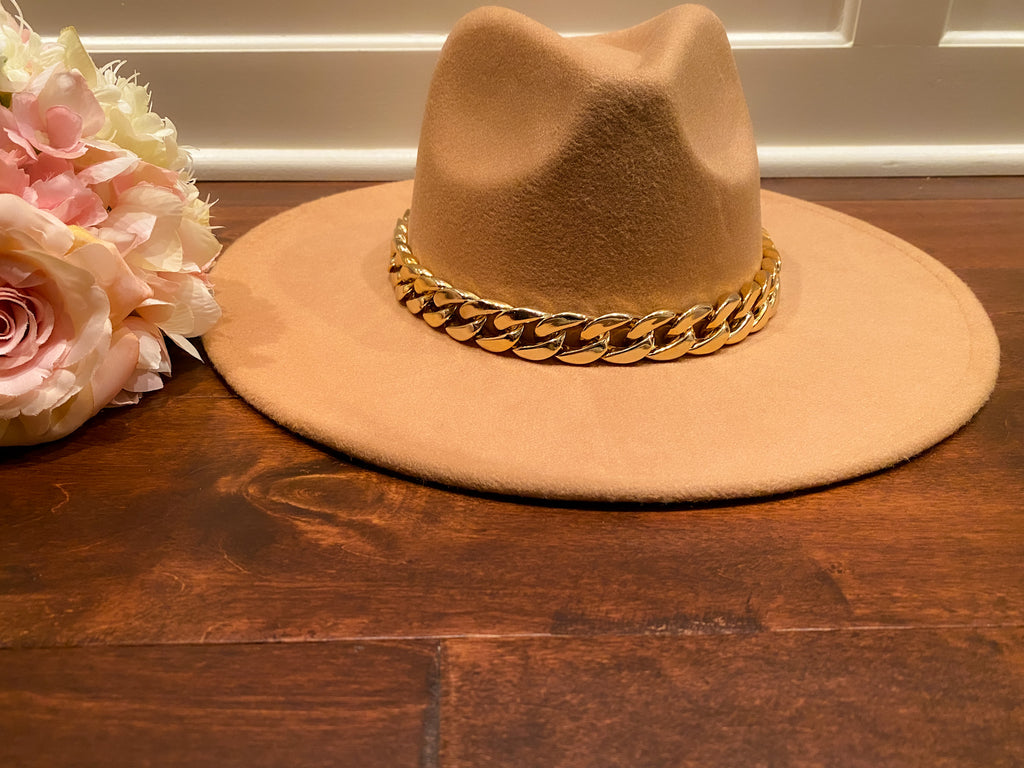 Laramie Hat in Tan