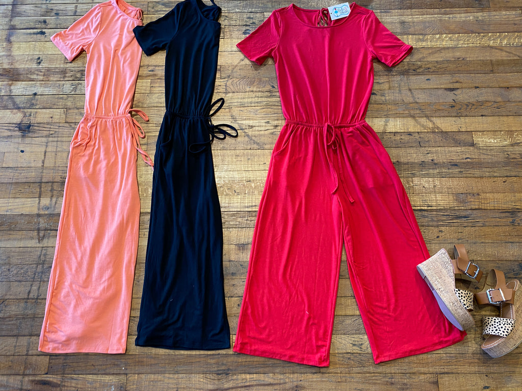 *BELLES & DOORBUSTER* Walk this Way Jumpsuit