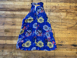 *BELLES & DOORBUSTER* Flower Power Tank in Royal