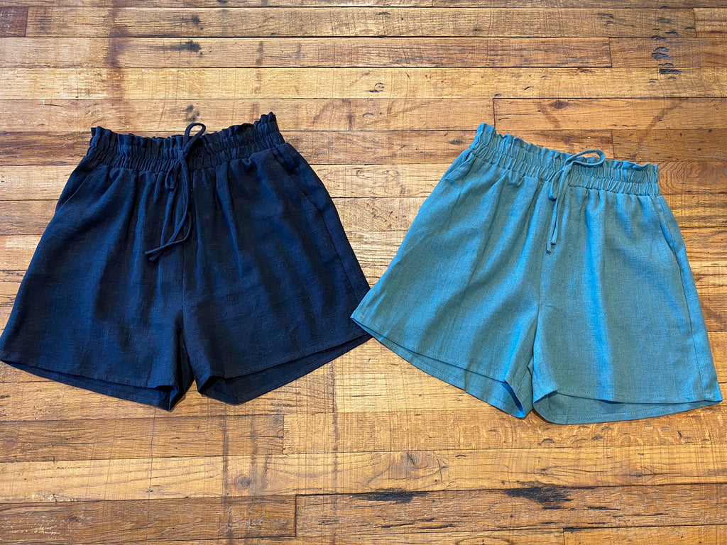 *BELLES & STEALS*Boardwalk Linen Shorts