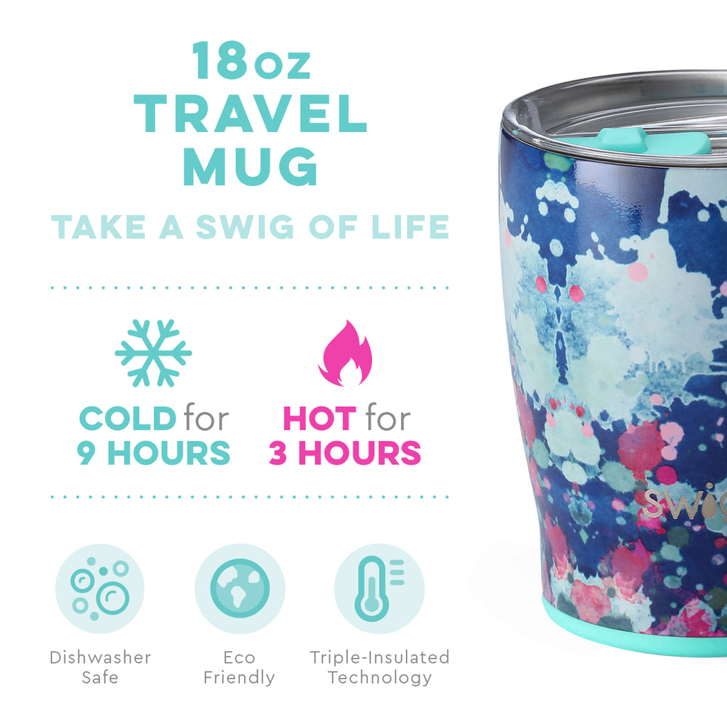 Swig Artist Speckle 18oz Mug with Lid