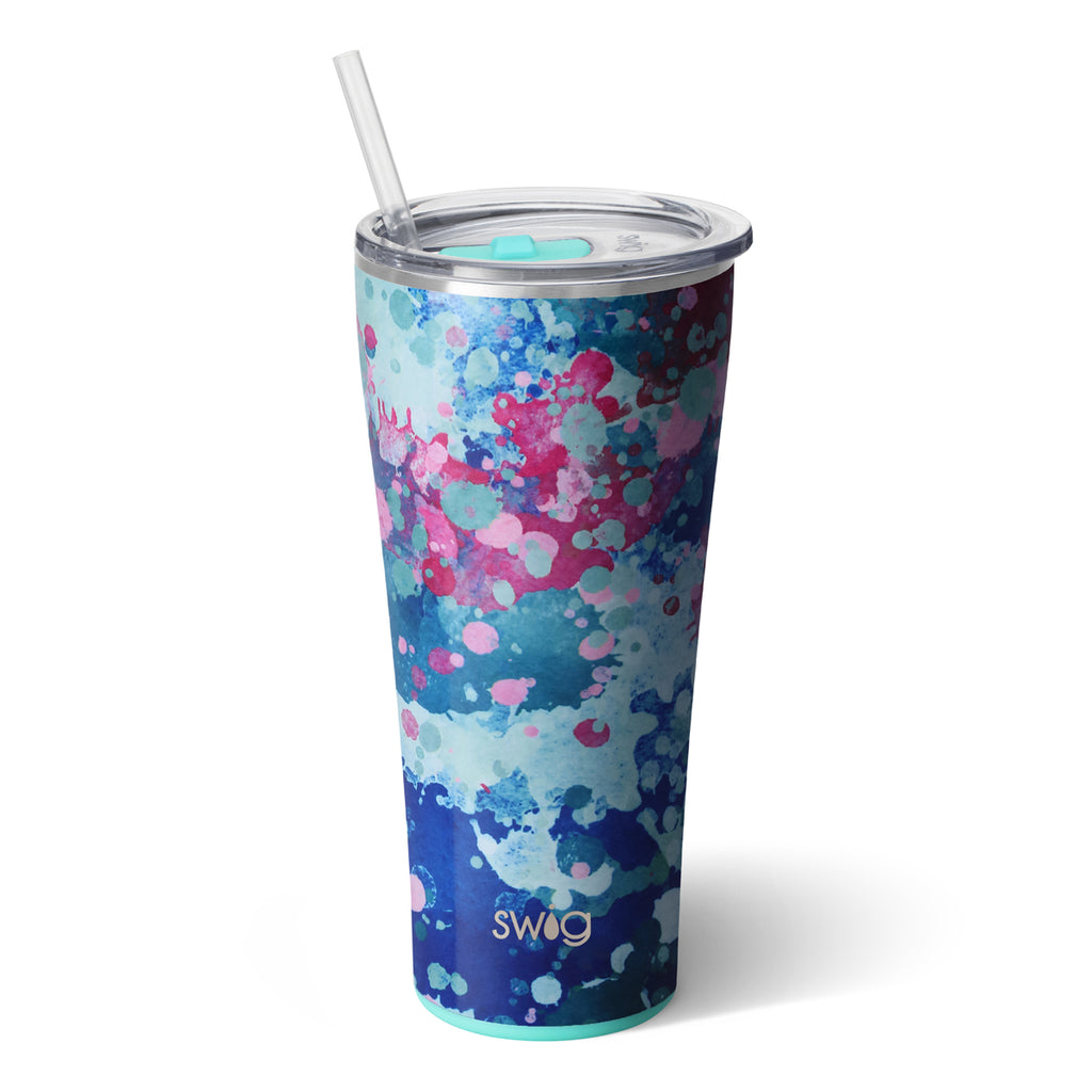 Swig Artist Speckle 32oz Tumbler with Straw