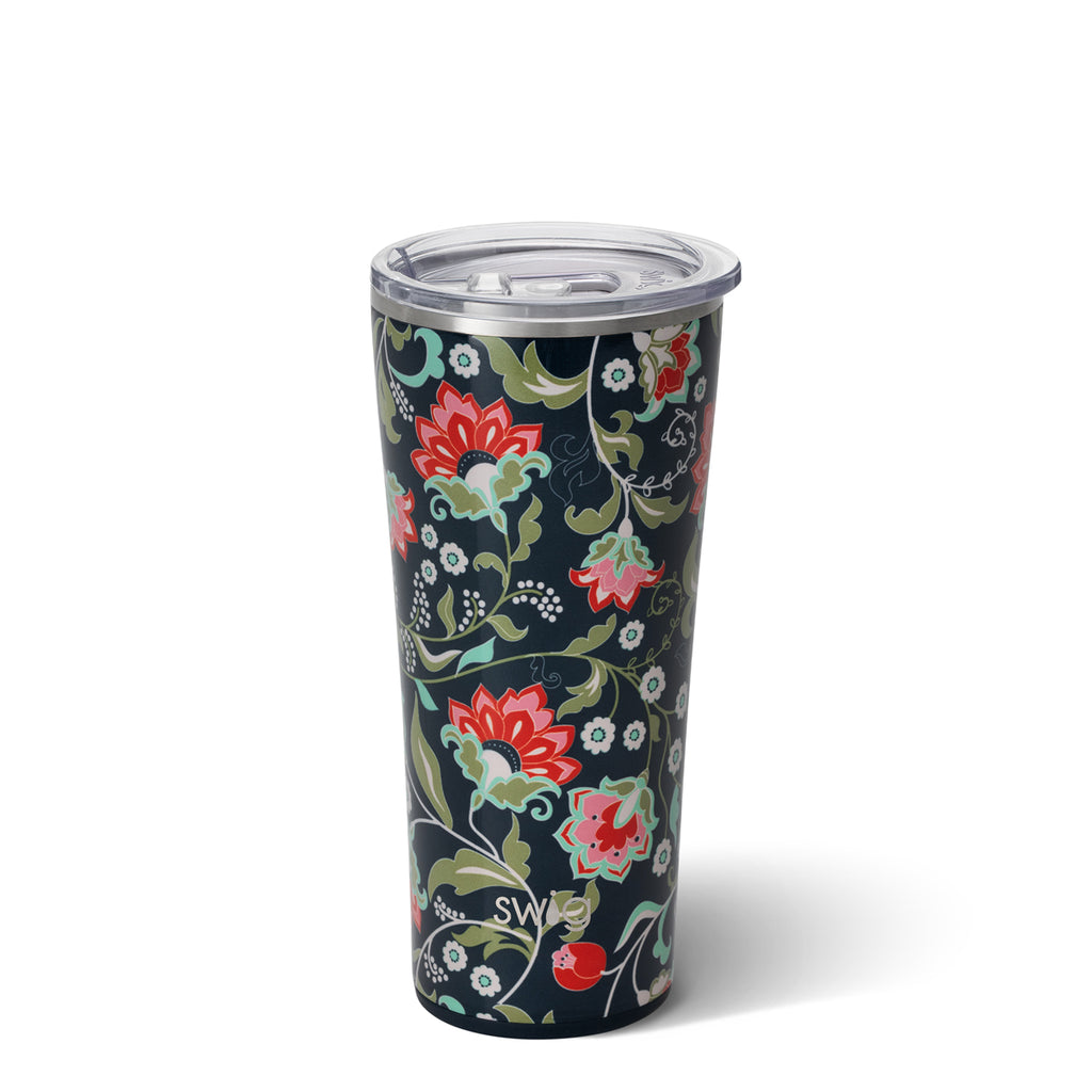 Swig Lotus Blossom 22oz Tumbler with Straw
