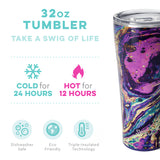 Swig Purple Reign 32oz Tumbler with Straw
