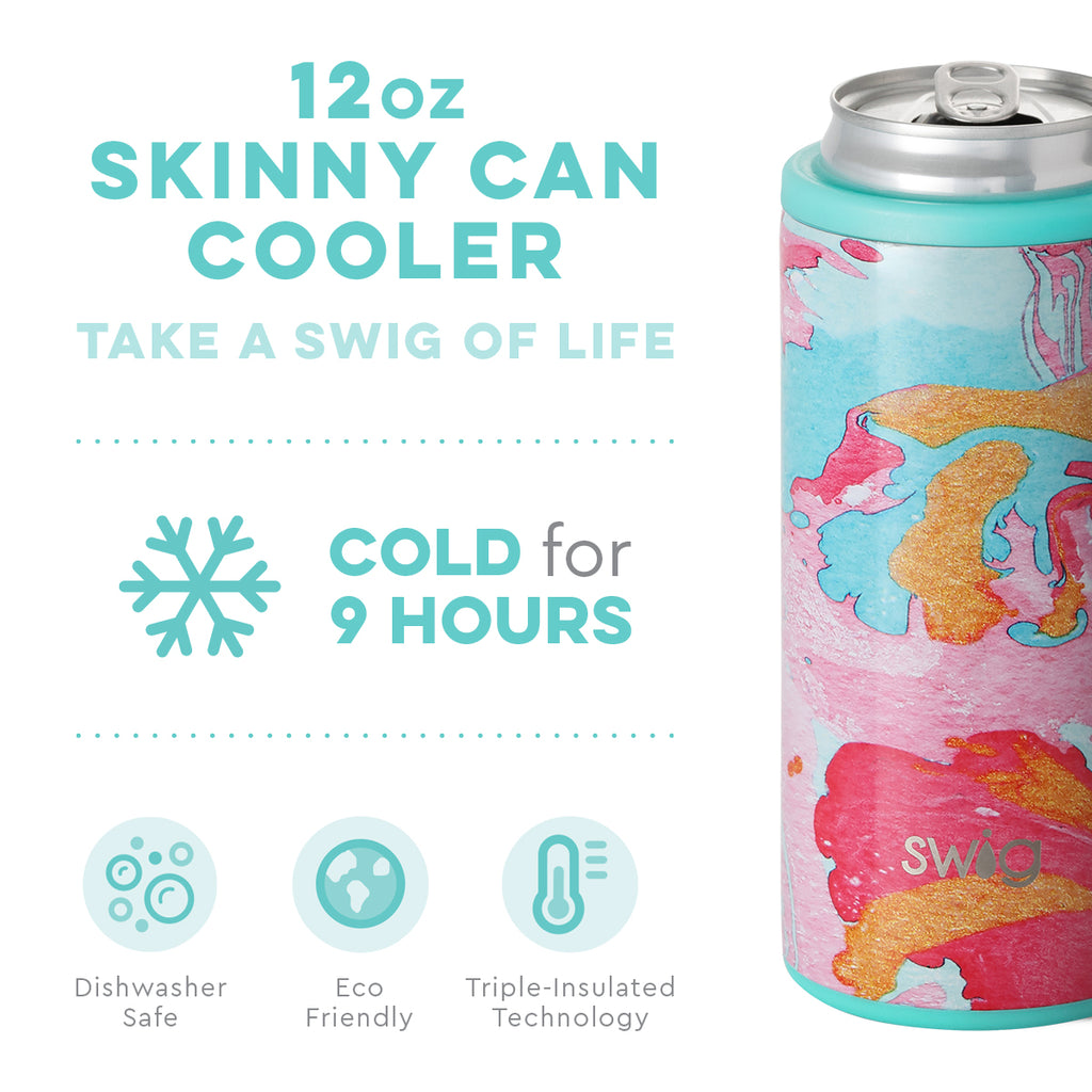 Swig Cotton Candy 12oz Skinny Can Cooler