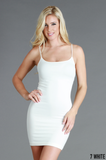 Nikibiki Camisole Slip Dress in White