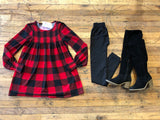 SALE! Townleigh Plaid Top in Red/Black