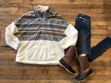SALE! Cloud Nine Pullover in Cream