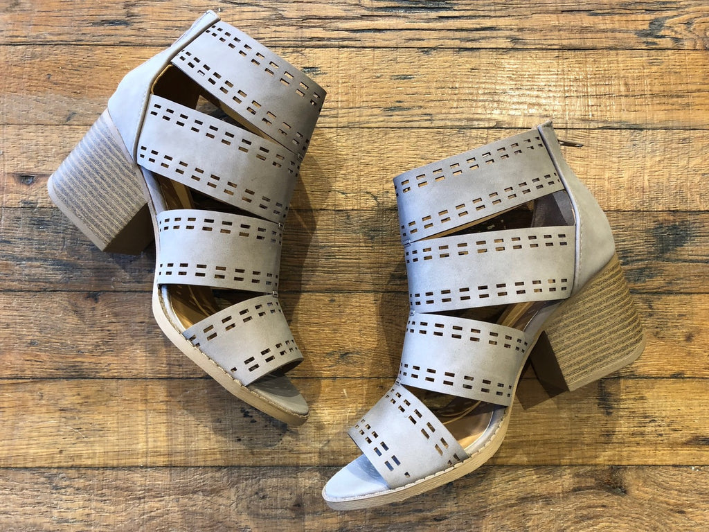 McGraw Cutout Heels