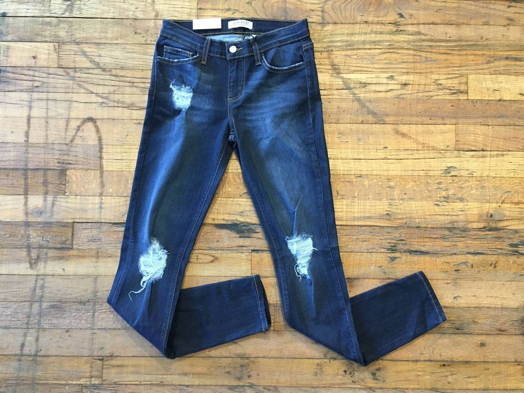 Arielle Distressed Knee Jeans