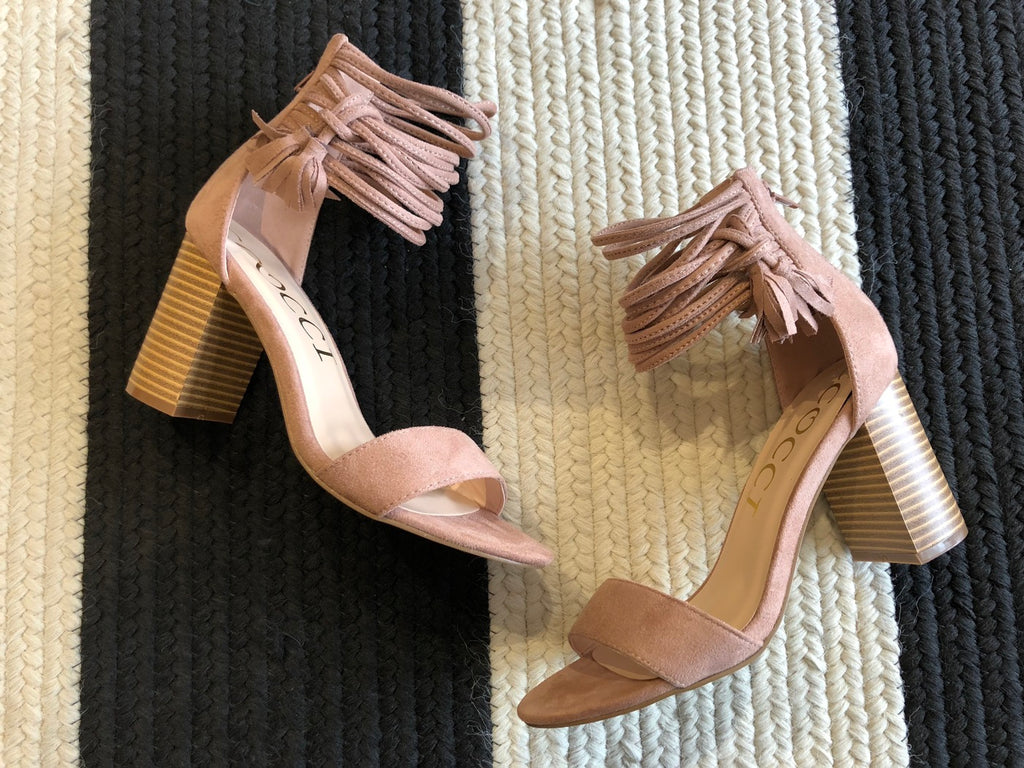 City Lights Heels in Mauve