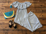 Island Hopping Maxi in Gray
