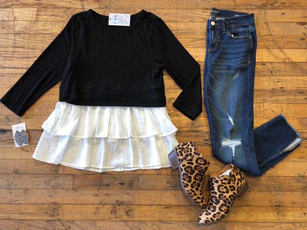 Olivia Layered Top