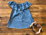 Fireflies Chambray Dress