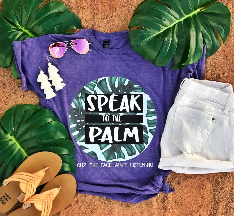 SALE! Speak to the Palm Tee