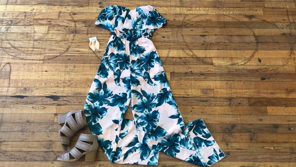 Under the Palms Jumpsuit