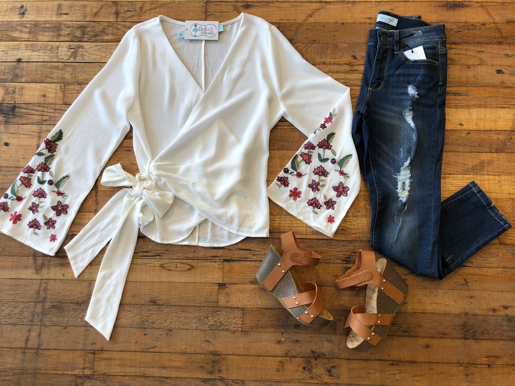 Sunnie Top in White