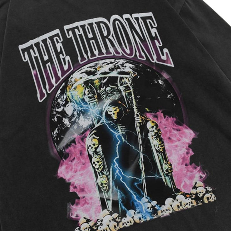 "SWEAT-SHIRT <br> ""THE THRONE"""