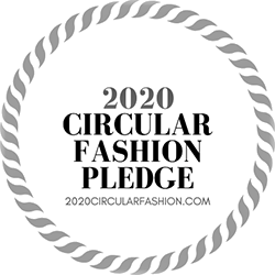 Circular Fashion Pledge Logo DEZEN's commitment