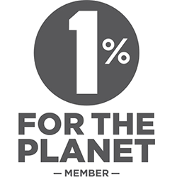 One Percent For The Planet Logo DEZEN's Pledge