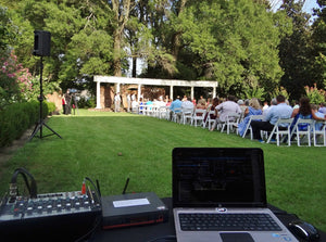 Ceremony: Music by DJ