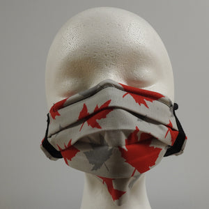 Reusable Cotton Masks-Canada Grey