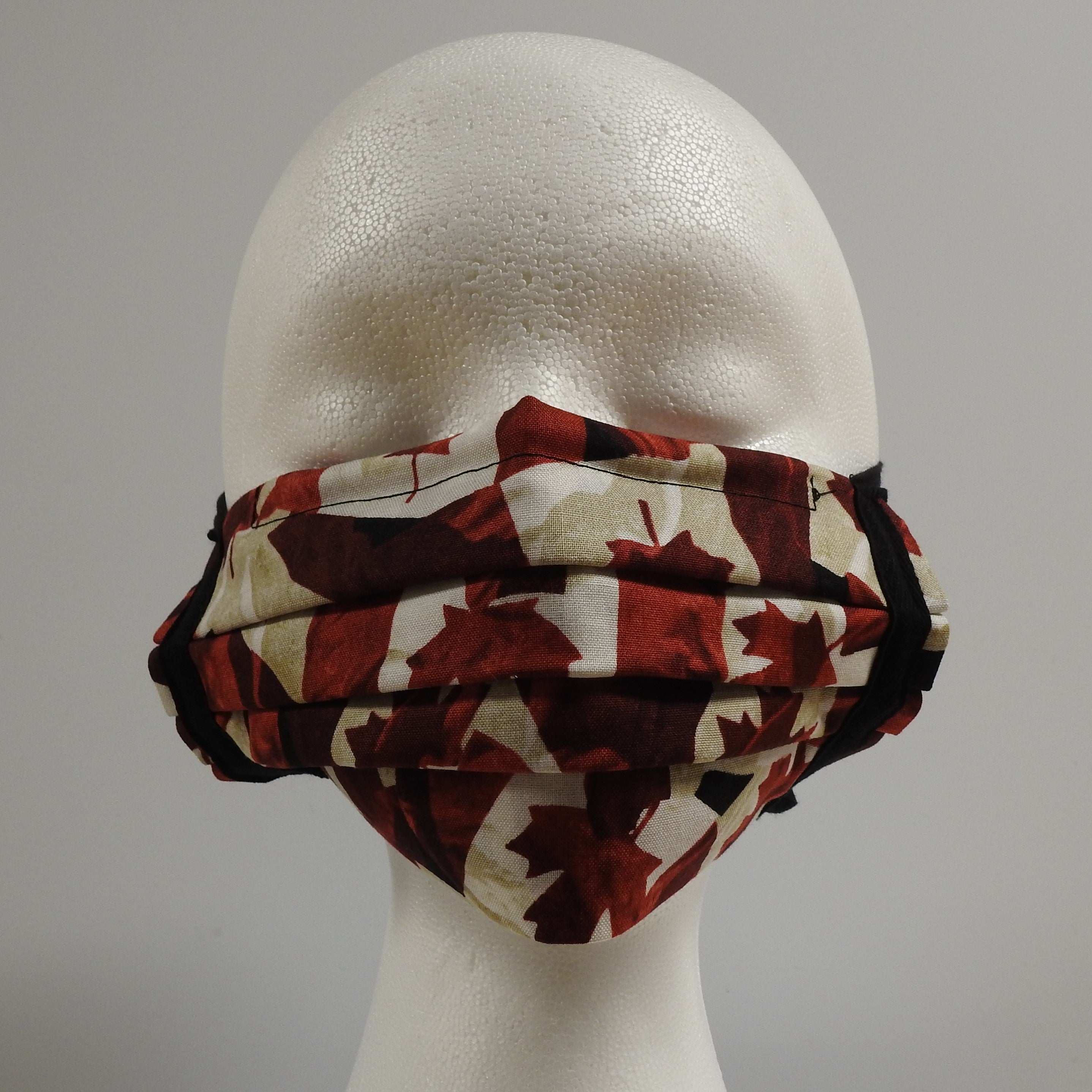 Reusable Cotton Masks-Canada Red Yellow