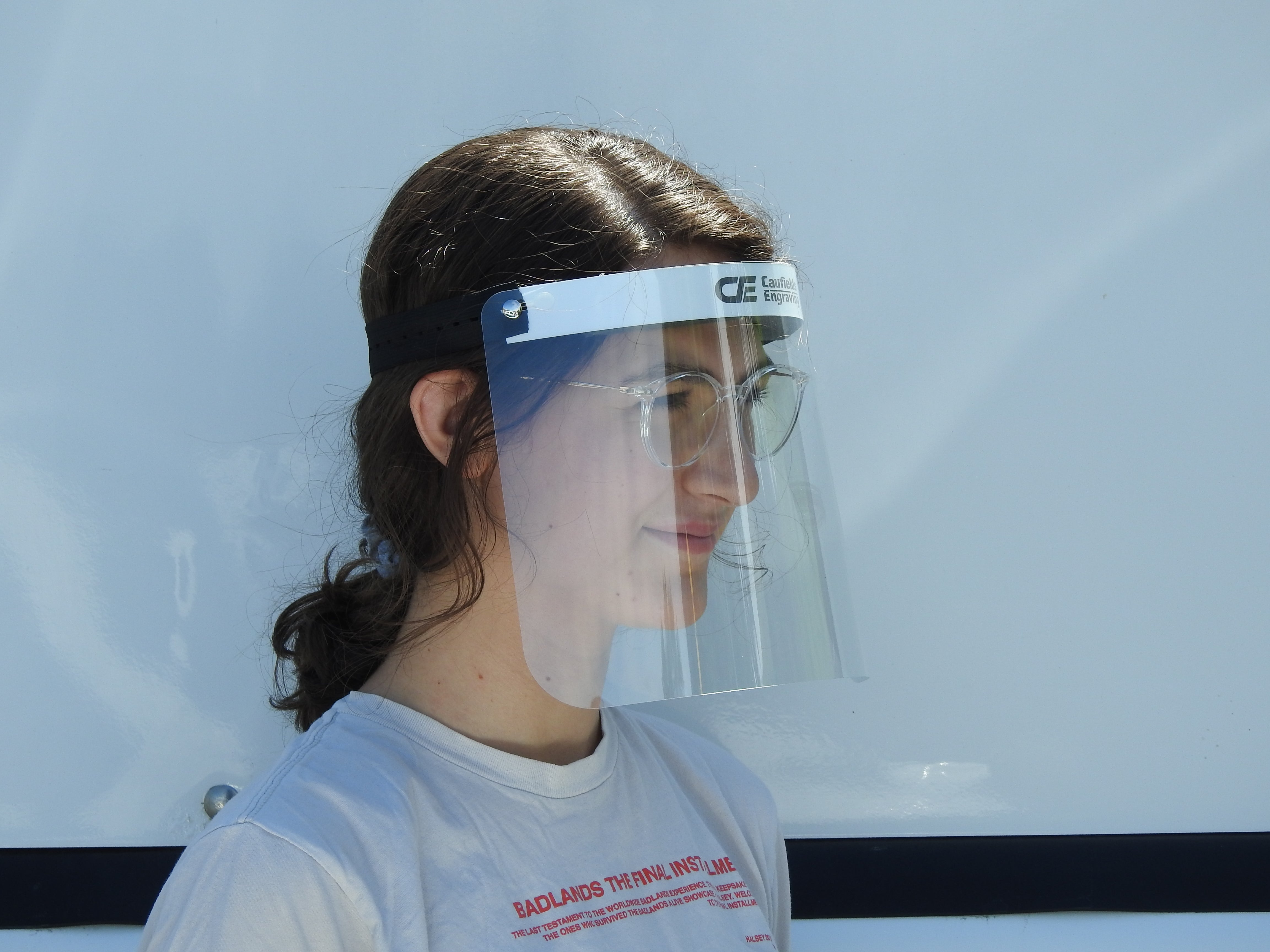Face Shield - Comfort 8""