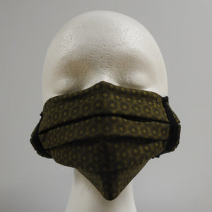 Reusable Cotton Masks-Green Star