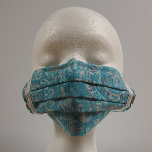 Reusable Cotton Masks-Light Blue