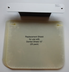 "Replacement Face Shields - 10"" Face Shield (Comfort & Dental)"