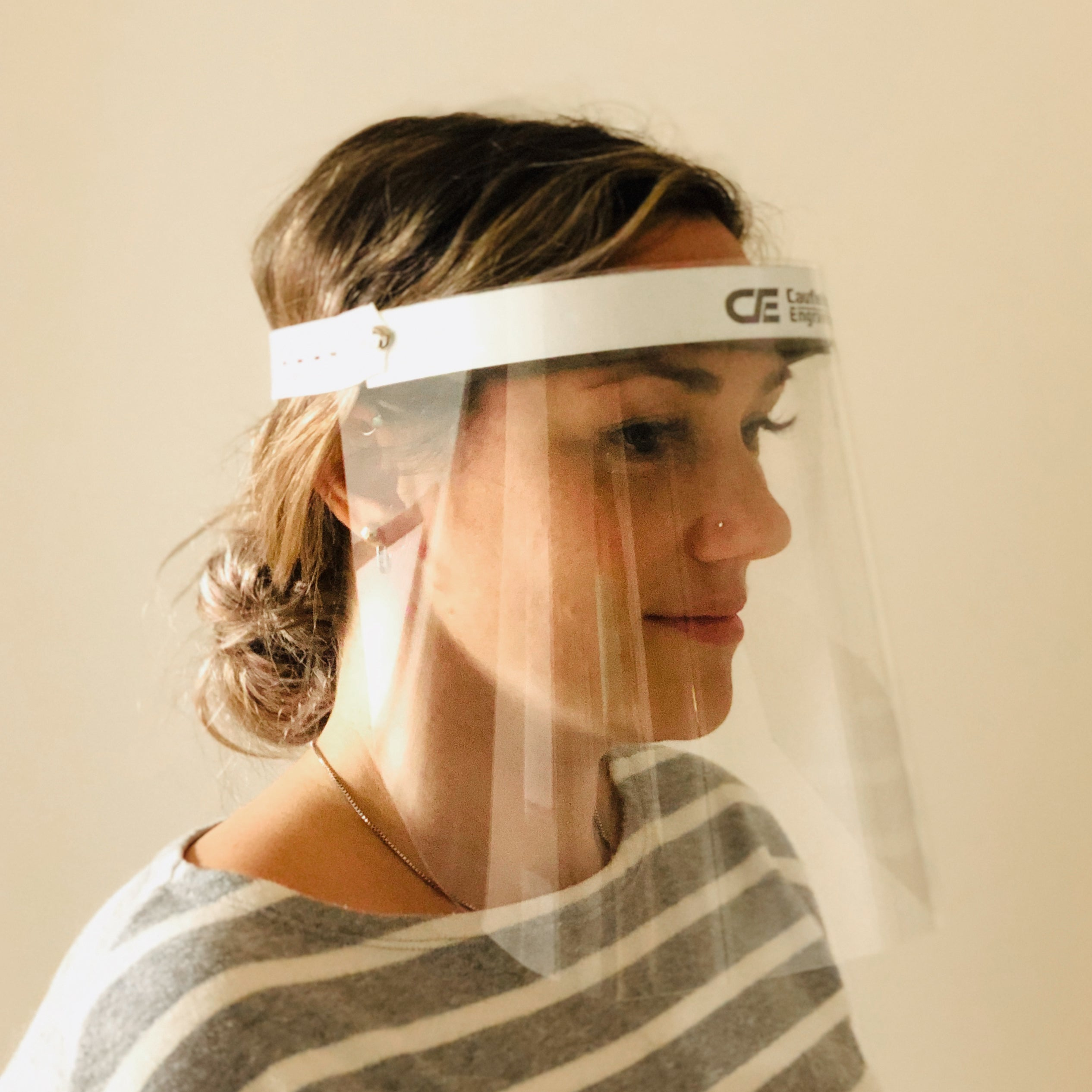 Covid-19 face shield for healthcare professionals